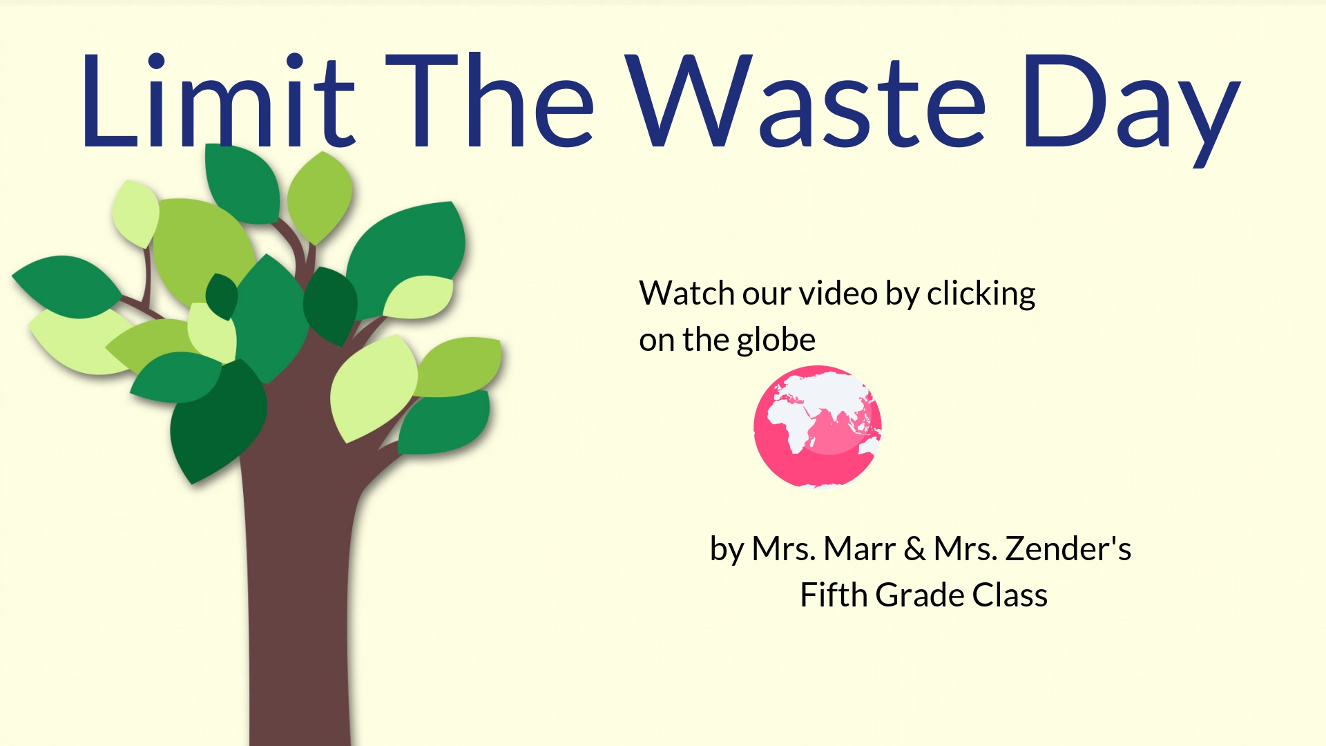 Thumbnail for Limit the waste day