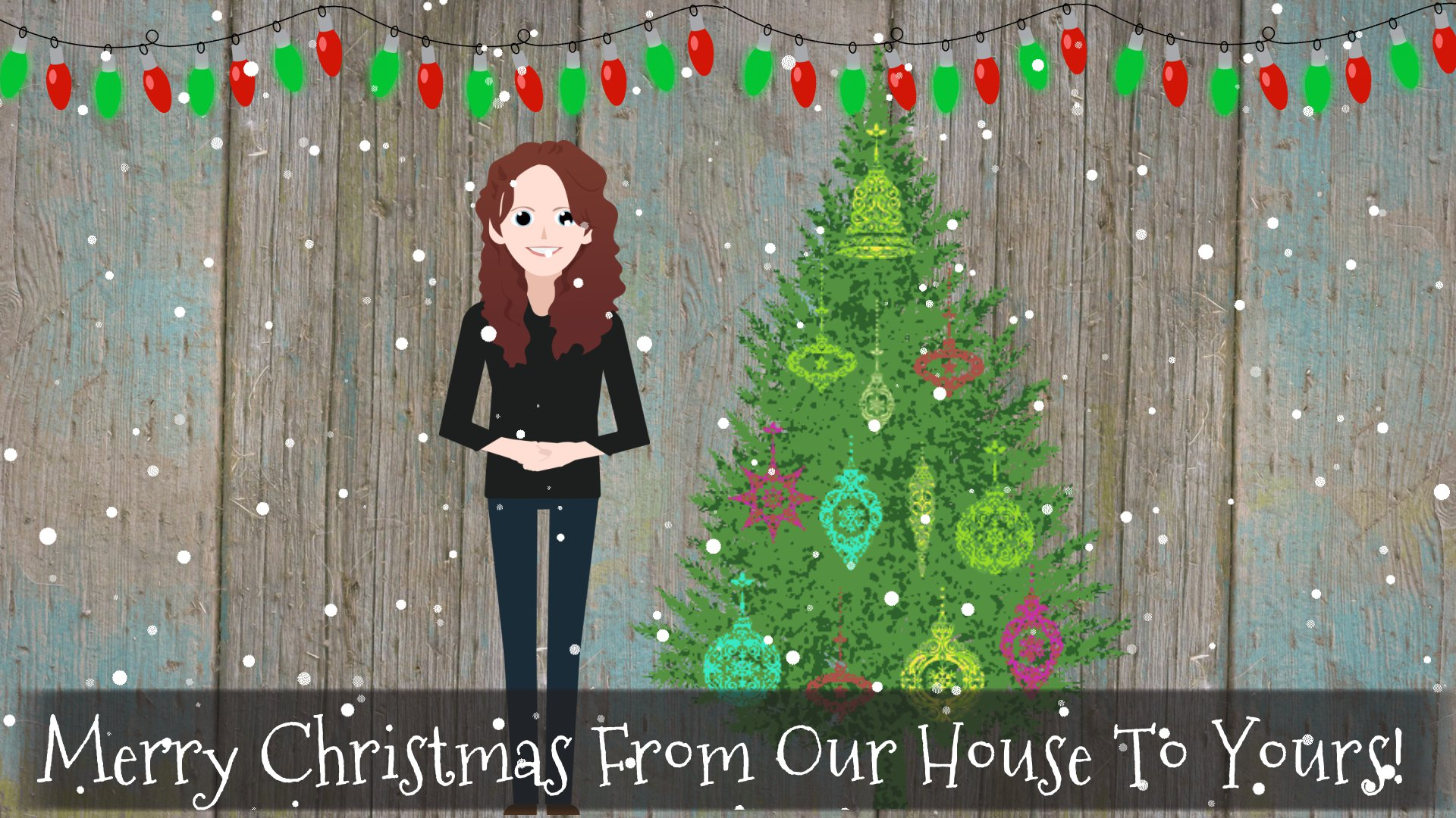 Merry Christmas From Our Home To Yours.Buncee Merry Christmas From Our House To Yours